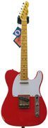 LSL Instruments TB SA NR T Bone Swamp Ash Nacho Red Flame Maple Neck 'Rose Marie'
