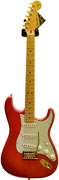 Fender Custom Shop Custom Deluxe Strat Fiesta Red MN Gold HW #R62036