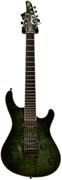 Mayones Regius 7 Trans Dirty Green Burst
