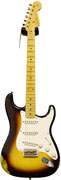 Fender Custom Shop 56 Relic Strat MN 2 Tone Sunburst #50002