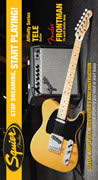 Squier Affinity Tele Butterscotch Blonde with Frontman 15G