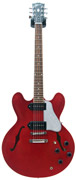 Gibson ES-335 Satin/Gloss Top Cherry with P90 Coil Taps #CS251376