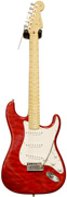 Fender Custom Shop Custom Deluxe Strat MN Candy Red (2012) #XN7419
