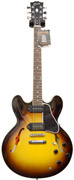 Gibson ES-335 Satin/Gloss Top Vintage Sunburst with P90 Coil Taps #CS251494