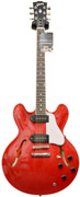 Gibson ES-335 Satin/Gloss Top Cherry with P90 Coil Taps #CS251367