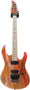 Suhr Limited Edition 80's Shred Machine Neon Drip Swamp Ash MN #19271