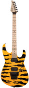Suhr Limited Edition 80's Shred Machine Tiger Stripe/Yellow Swamp Ash MN #19298