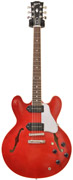 Gibson ES-335 Satin/Gloss Top Cherry with P90 Coil Taps #CS251491