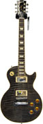 Gibson Les Paul Standard Premium Plus Trans Black Chrome Hardware (2012) #113720313