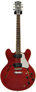 Gibson ES-335 Satin/Gloss Top Cherry with P90 Coil Taps #CS251509