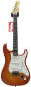 Fender Custom Shop Custom Deluxe Strat RW Faded Honey Burst (2012) #8130