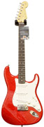 Fender Custom Shop Custom Deluxe Strat RW Candy Red (2012) #7833