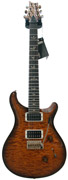 PRS Custom 24 Amber Black Quilt 10 Top Indian RW #176361
