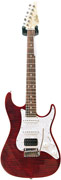 Suhr Limited Edition Korina Flame Chilli Pepper Red #19529