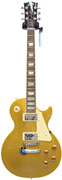 Gibson Les Paul Standard Gold Top Chrome Hardware (2012) #120120640