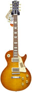 Gibson LPR0 1960 Les Paul Lightly Aged Amber Orange Burst #02490