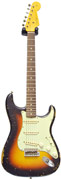 Fender Custom Shop 1960 Stratocaster Relic 3 Tone Sunburst Masterbuilt by Paul Waller #R67787