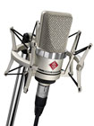 Neumann TLM-102 Nickel Studio Set Inc Shockmount