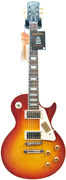 Gibson LPR8PWC Les Paul 1958 Plain Top Lightly Aged Washed Cherry #821853