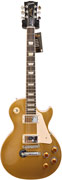 Gibson Les Paul Standard Gold Top Chrome Hardware #1201204641