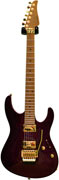 Suhr Modern Carve Top Burgundy Flake HH Floyd Rose #13015 (Pre-Owned)
