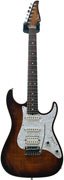 Suhr Standard Bengal Burst Alder Flame Maple RW #15956 (Pre-Owned)