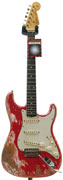 Fender Custom Shop 1960 Strat Seminole Red Bare Knuckle Irish Tour Pickups (Pre-Owned)