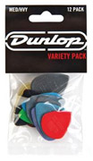 Dunlop PVP102 Variety Pack Medium/Heavy 12 Player Pack