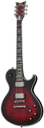 Schecter Hellraiser Extreme Solo 6 Ebony Crimson Red Burst Satin (2013)