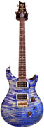 PRS Custom 24 Faded Blue Jean 10 Top Pattern Regular Neck 59/09 pickups #195511