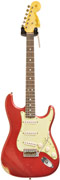 Fender Custom Shop 'The 66s' 66 Stratocaster Relic Candy Apple Red Abi Handwound 65 Pickups RW #R69901