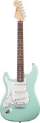 Fender Custom Shop Jeff Beck Strat Surf Green LH #1