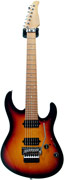 Suhr Modern 7 String 3 Tone Burst Alder/Plain Maple Roasted MN #17522