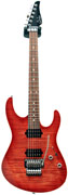 Suhr Pro Series M5 Modern Faded Trans Wine Red Burst #P4488