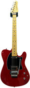 Buzz Feiten Guitars Classic Pro Prototype Trans Red