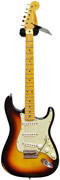 Fender Custom Shop Guitarguitar Dealer Select 59 Stratocaster Relic Faded 3 Tone Sunburst RW #R72485