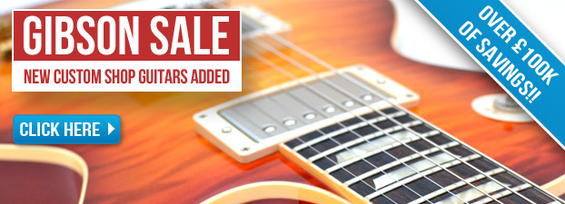 Gibson Sale - Over �100,000 of Savings!