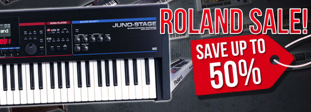 Roland Sale - Huge Savings!