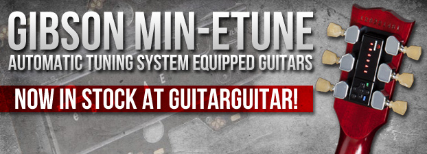 Gibson Min-ETune Guitars Now In-Stock