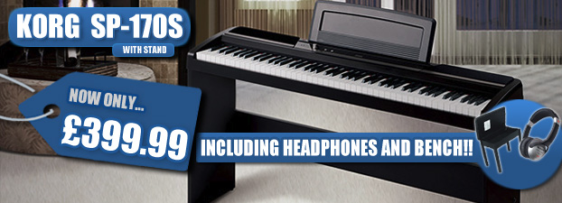 Korg SP-170s with Headphones, Bench & Stand - �399