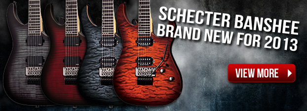 Schecter Banshee - New for 2013
