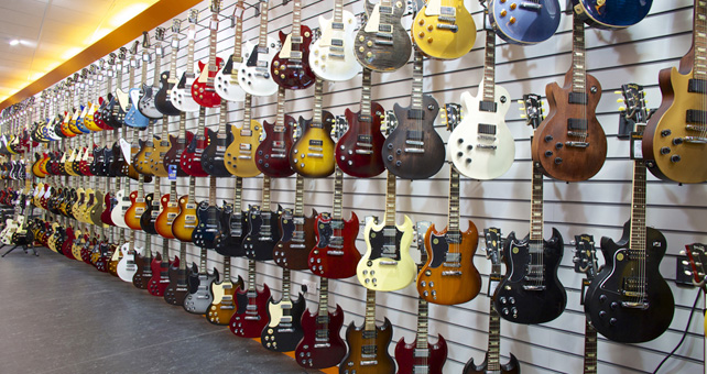 Guitar Center is the world's largest musical instruments retailer. Shop Guitars, Bass, Drums, Amps, DJ, Keyboards, Pro-Audio and more. Most orders ship free!