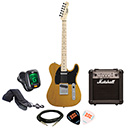Squier Affinity Telecaster Butterscotch Blonde w/ Marshall MG10CF Package