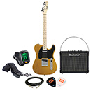Squier Affinity Telecaster Butterscotch Blonde w/ Blackstar ID:Core 10 Package