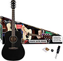 Fender CD-60 Acoustic Guitar Pack Black