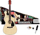 Fender CD-60 Acoustic Guitar Pack Natural