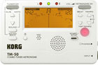 Korg TM50-WH Digital Tuner Metronome White