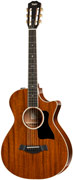 Taylor 522ce 12-Fret All-Mahogany