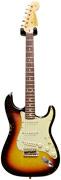 Fender Custom Shop Guitarguitar Dealer Select 59 Stratocaster Relic Faded 3 Tone Sunburst RW #R73867