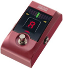 Korg Pitchblack-RM Floor Type Digital Chromatic Tuner Red Metallic